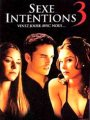 Affiche Sexe intentions 3